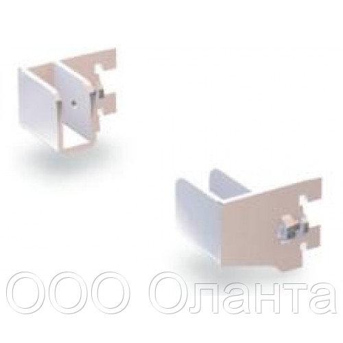 Комплект держателей прямоугольной трубы Vertical хром арт. 301MD6