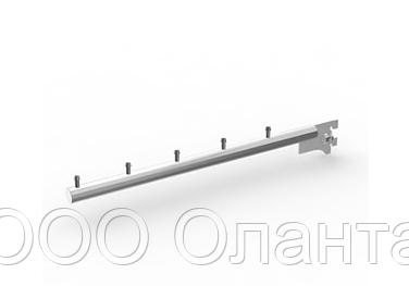 Кронштейн прямой в стойку 5 штырей (L-350 мм) Vertical хром арт. 421C3