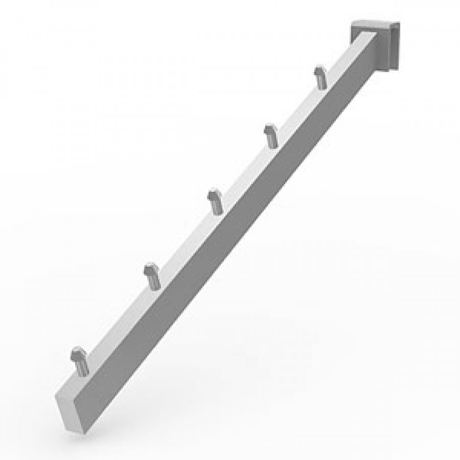 Кронштейн на планку 5 штырей (L-400 мм) Vertical хром арт. 477