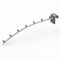 Кронштейн на планку 7 штырей (L-350 мм) Vertical хром арт. D63