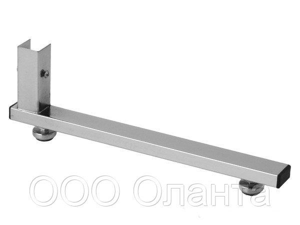 Опора L-образная (L- 420 мм) Basis серебро арт. ТР7
