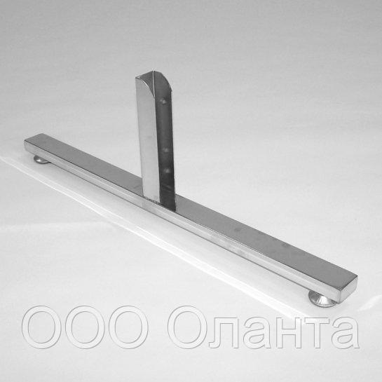 Опора T-образная (L-640 мм) Basis серебро арт. TP9