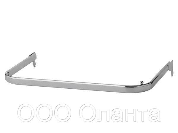 Кронштейн П-образный (L-600) Basis серебро арт. TP47