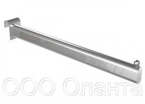Кронштейн прямой на планку Basis серебро арт. TP69