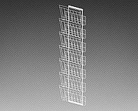 Полоса настенная для прессы на 7 лотков формат А3 арт. СГС3-7Л