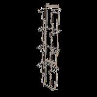 Полоса настенная для прайс-листов на 4 кармана формат А4 арт. СБС3-4