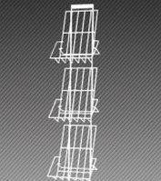 Полоса настенная для прайс-листов на 3 лотка формат А4 арт. СБС3-3Л