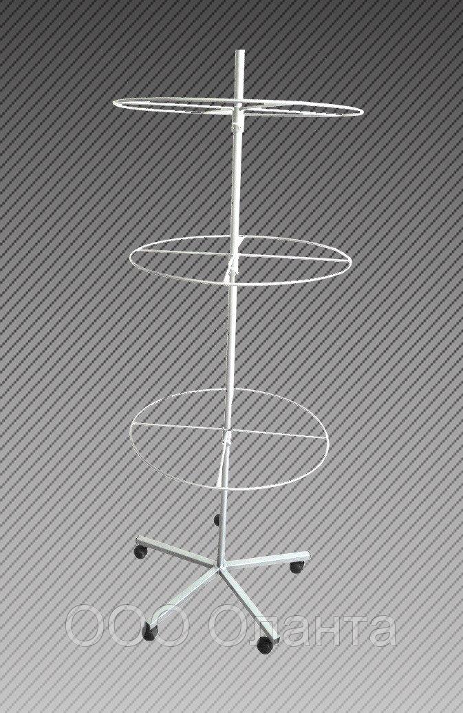 Стойка для купальников напольная 3 яруса арт. СКПС1