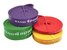 Резиновые петли для тренировок (комплект из 4х штук) (нагрузка 3 - 54 кг) BanD4Power, фото 2