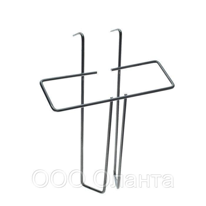Карман проволочный А5 (перфорация) хром