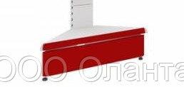 Цоколь угловой для опоры L=400 мм