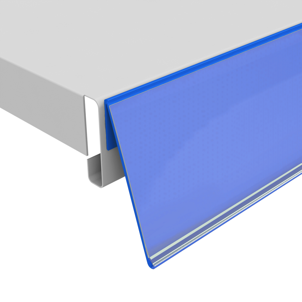 Ценникодержатель полочный самоклеящийся NO39 (L=1250 мм)