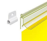 Петля GRIPPER CLIP для подвешивания пластикового профиля арт.820006, фото 1