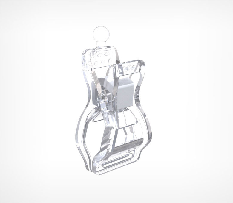 Держатель для шарнирного ценникодержателя CLIP LARGE-VL арт.410005