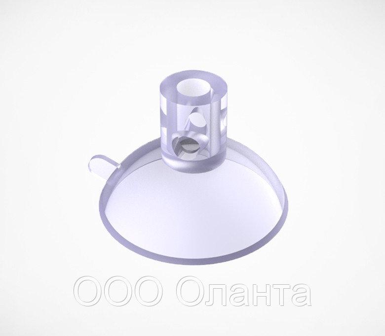 Силиконовая присоска с тремя отверстиями (D=46 мм) SC арт.790023