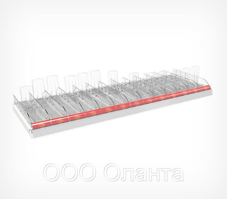 Комплект лотков для выкладки плиточного шоколада CHOCO-TRAY-SET-13 (1250х395х145 мм) арт.777013