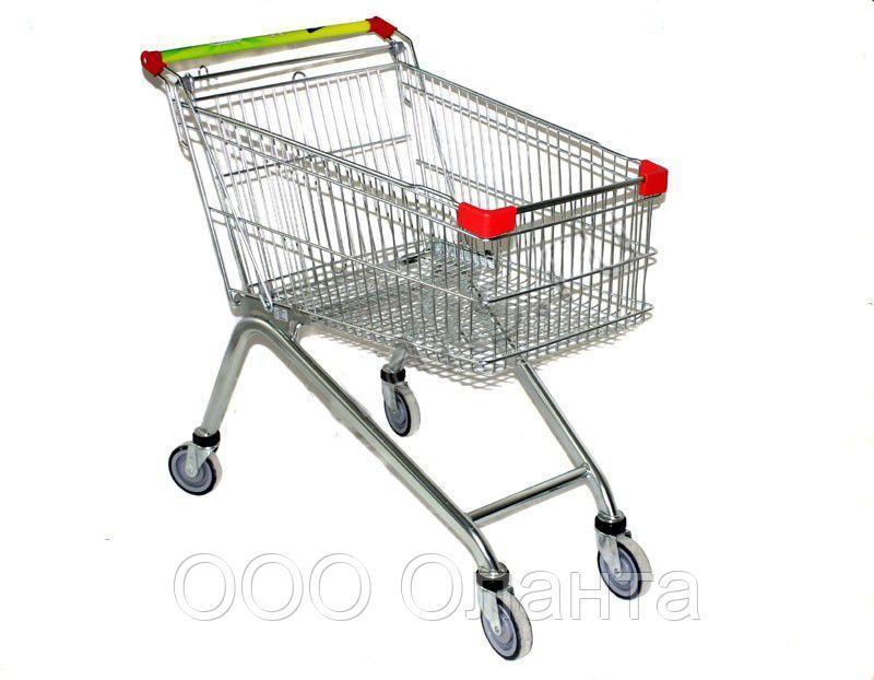 Тележка покупательская для магазина 125 литров арт. TPSE125