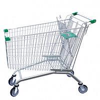 Тележка покупательская для магазина 150 литров с детским сиденьем арт. TPSE150-S