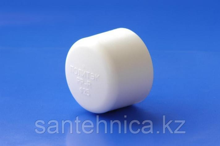 Заглушка полипропиленовая PP-R Дн 40 Белая, фото 2