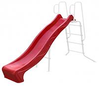 Скат для горки из пластика Rex 2,20 (2,40) красный