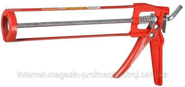 Пистолет для герметика полуоткрытый, скелетный, 310 мл, DEXX
