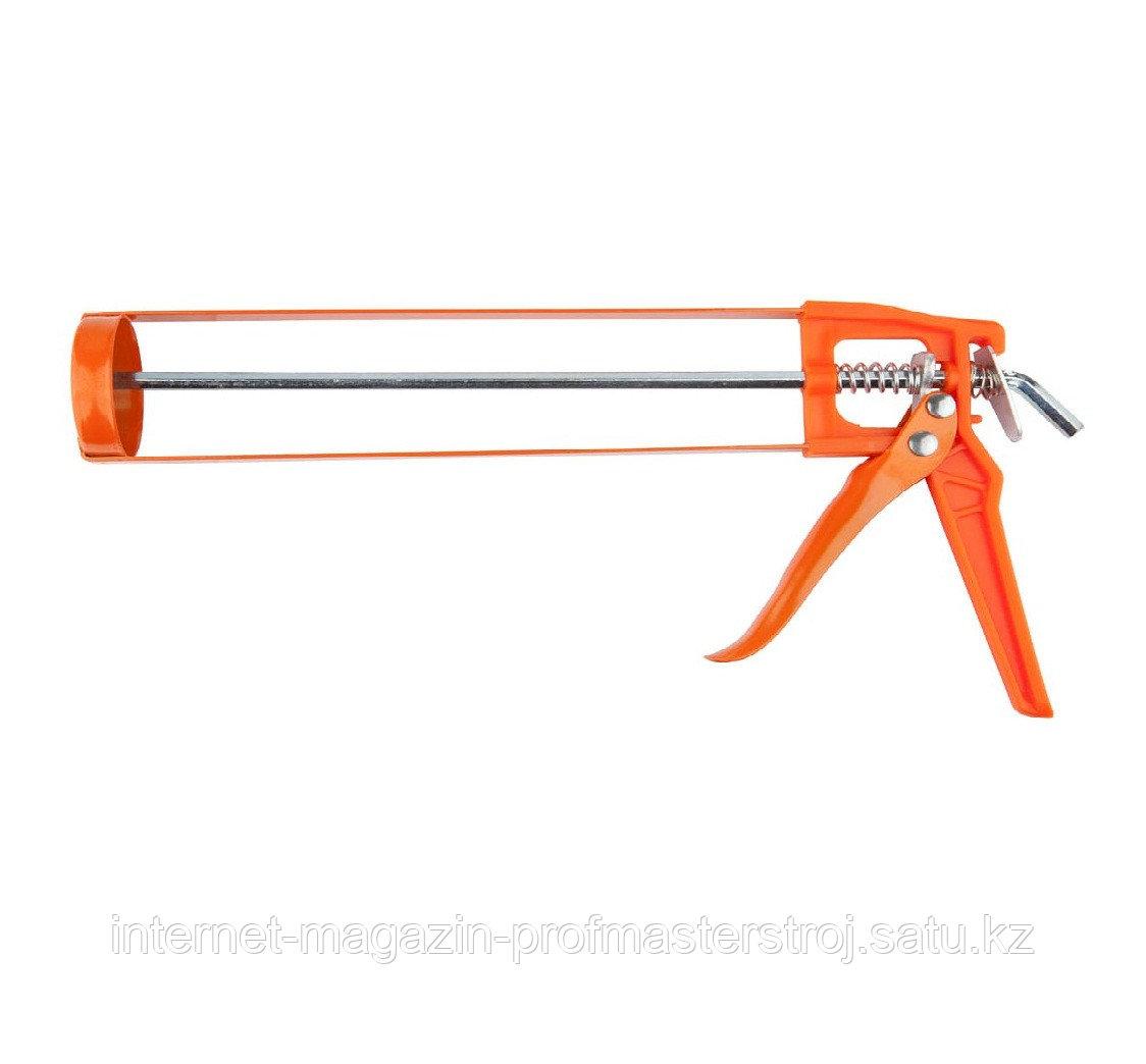 Пистолет для герметика полуоткрытый, скелетный, 310 мл, MIRAX