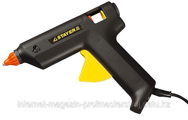 Пистолет термоклеящий электрический, 60 Вт, 11 мм, STAYER