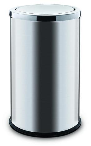 Контейнер для мусора ALDA с вращающейся крышкой 45 литров серия SWING (Матовая), фото 2