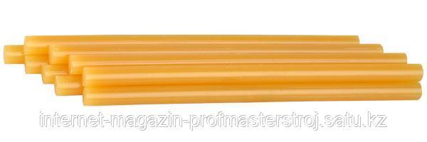 Стержни клеевые для термоклеящих пистолетов, 11 x 200 мм, желтые, 6 шт в упаковке, STAYER