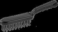 Щетка проволочная стальная, 4 ряда, большая, серия «ЭКСПЕРТ», ЗУБР