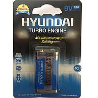 Батарея крона HYUNDAI POWER ALKALINE 6LR61