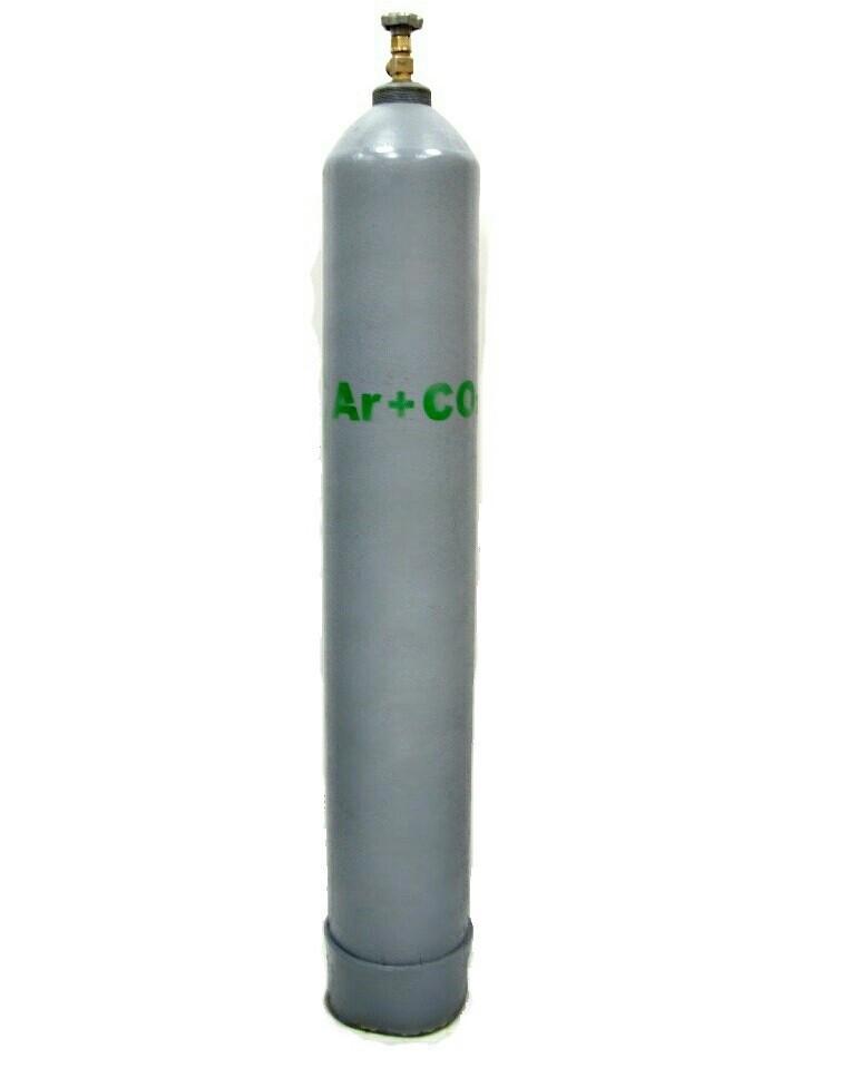 Сварочная смесь аргон с углекислотой  (85 % + 15 %)