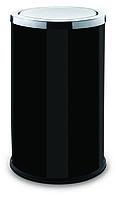 Контейнер для мусора ALDA с вращающейся крышкой 45 литров серия SWING (Чёрный)