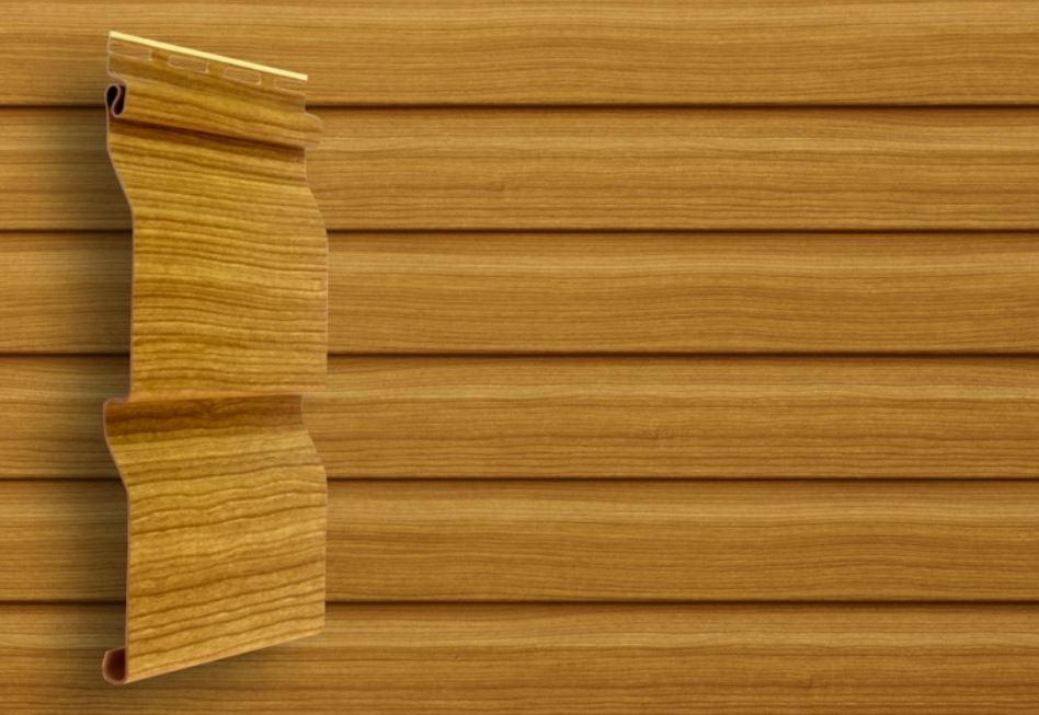 Сайдинг Tundra 3,0 GL America D4 (Slim) корабельный брус. Имитация деревянной доски меньший ширины, цвет клен