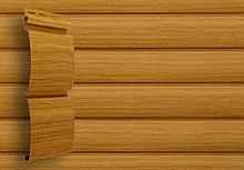 Блок хаус 3,0 GL America D4,8 - имитация сруба из бруса, цвет клен