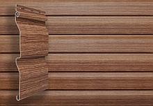 Блок хаус 3,0 GL Amerika D4,8 - имитация сруба из бруса, цвет рябина