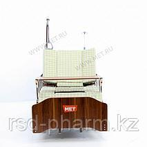 """MET EVA Кровать функциональная медицинская электрическая с полным переворотом, с туалетом, с """"ушками"""", фото 3"""