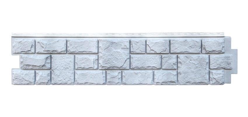 Фасадная панель Grand Line Екатерининский камень, цвет графит