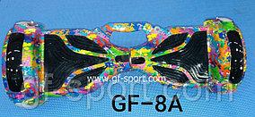 Гироскутер с подсветкой + Автобаланс Lambo 8 дюймов с ручкой + сумка в подарок  8А