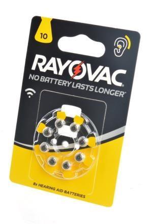Батарейка для слуховых аппаратов RAYOVAC 10 PR70  1,45v