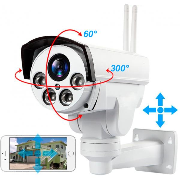 Уличная поворотная 4G Wi-Fi IP камера c 5х зумом и звуком Millenium 433 PTZ