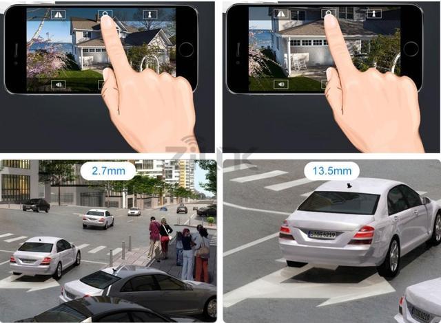Уличная поворотная 3G 4G Wi-Fi IP камера c 5х зумом и звуком Millenium 433 PTZ