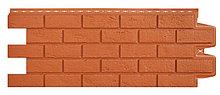 """Фасадная панель Grand Line коллекция """"состаренный кирпич"""", цвет терракотовый"""