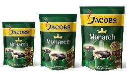 Кофе растворимый «Jacobs Monarch» 75 г (вакуумная упаковка)