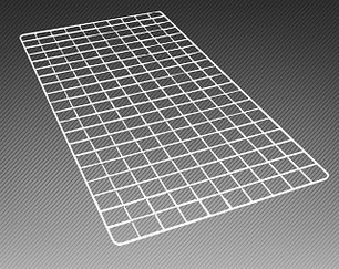 Сетка с одинарной окантовкой 8 мм (крашенная)