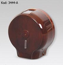 """Диспенсер для рулонной туалетной бумаги Jumbo, текстура и цвет """"дерево"""""""