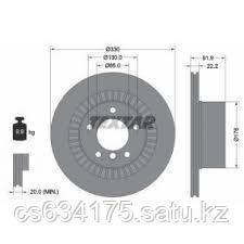 Тормозной диск Задний Schnieder