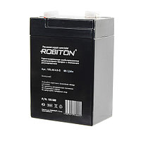 Аккумулятор ROBITON VRLA6-4,5-S 6вольт 3,5Aч