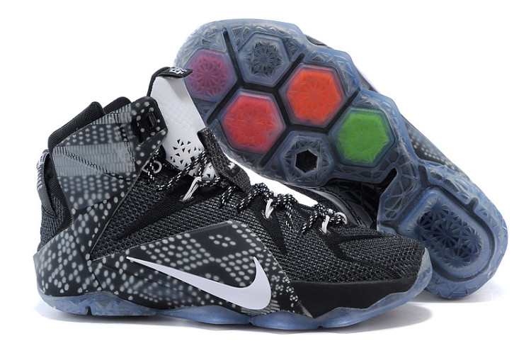 Кроссовки Nike LeBron XII (12) BHM  Series (40-46)