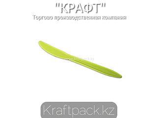Нож зеленый 150мм, из кукурузного крахмала (50/1000)